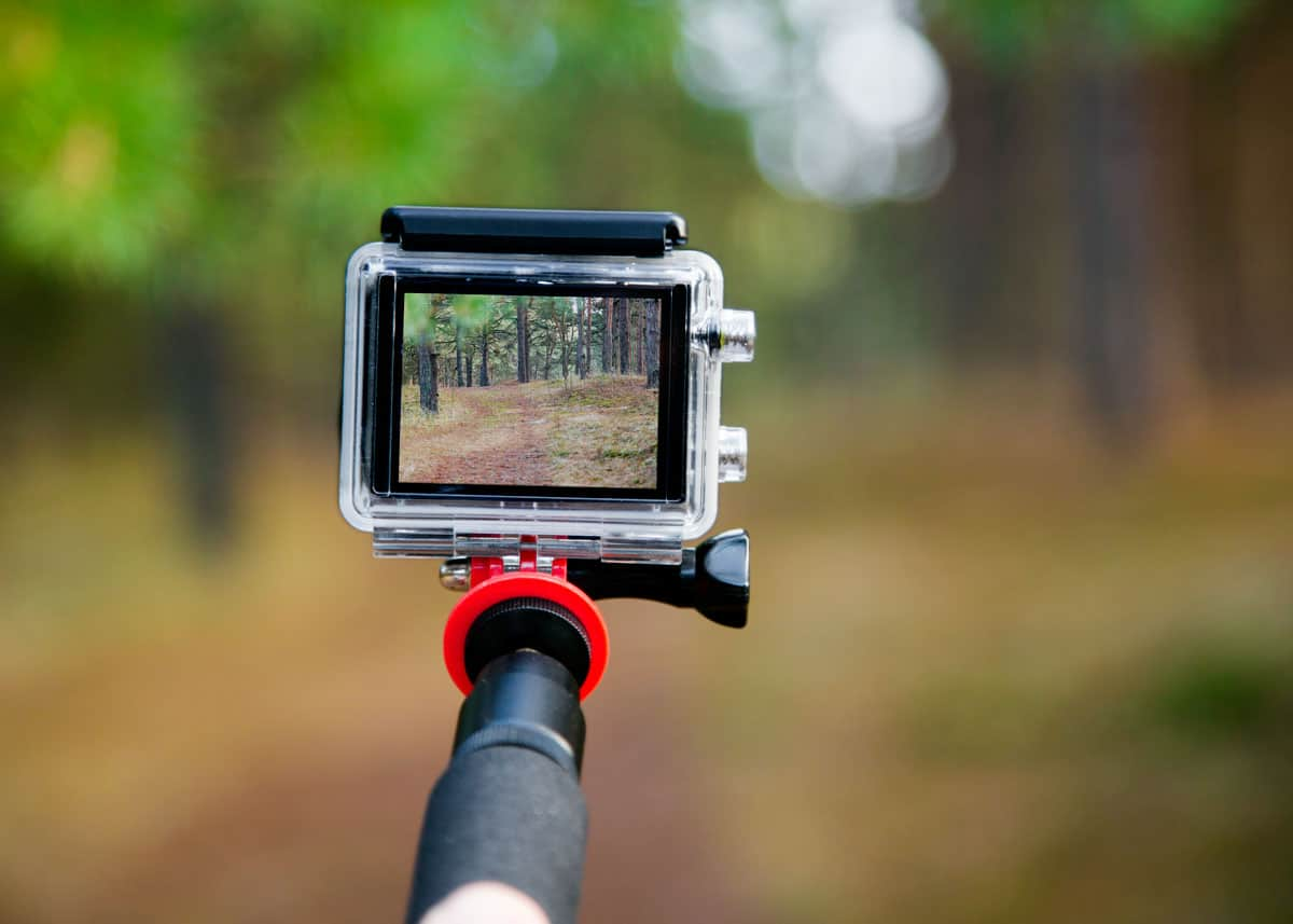 GoPro hiking mount