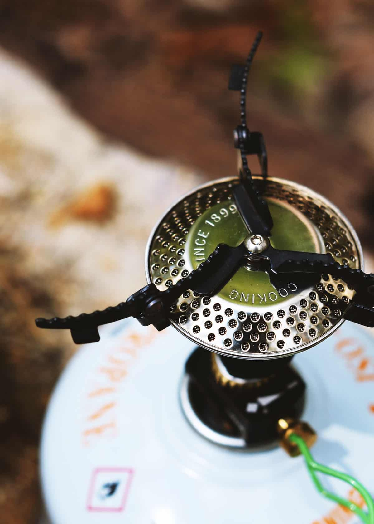 Ultralight camping stoves compared