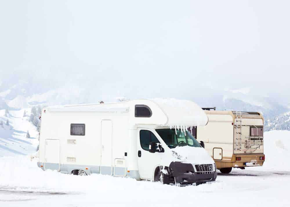 how to winterize a camper to live in